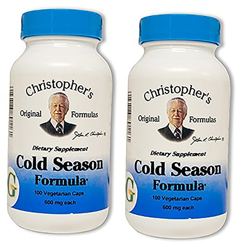 Dr. Christopher's Cold Season formula, 100 Caps 2 Pack (Formulas Dr Christophers)