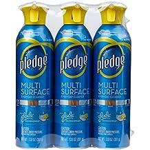 Pledge multi surface 3 pack Rainshower scent furniture spray 13.8 oz