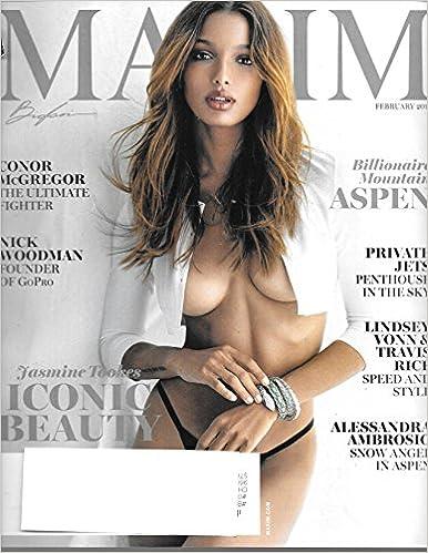 6b0afb72ca Maxim Magazine (February