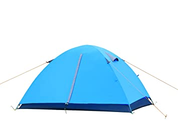 EverKing 2 Person Double Layer C&ing Tent Double Person 4 Seasons Portable Folding Tent  sc 1 st  Amazon.com & Amazon.com : EverKing 2 Person Double Layer Camping Tent Double ...