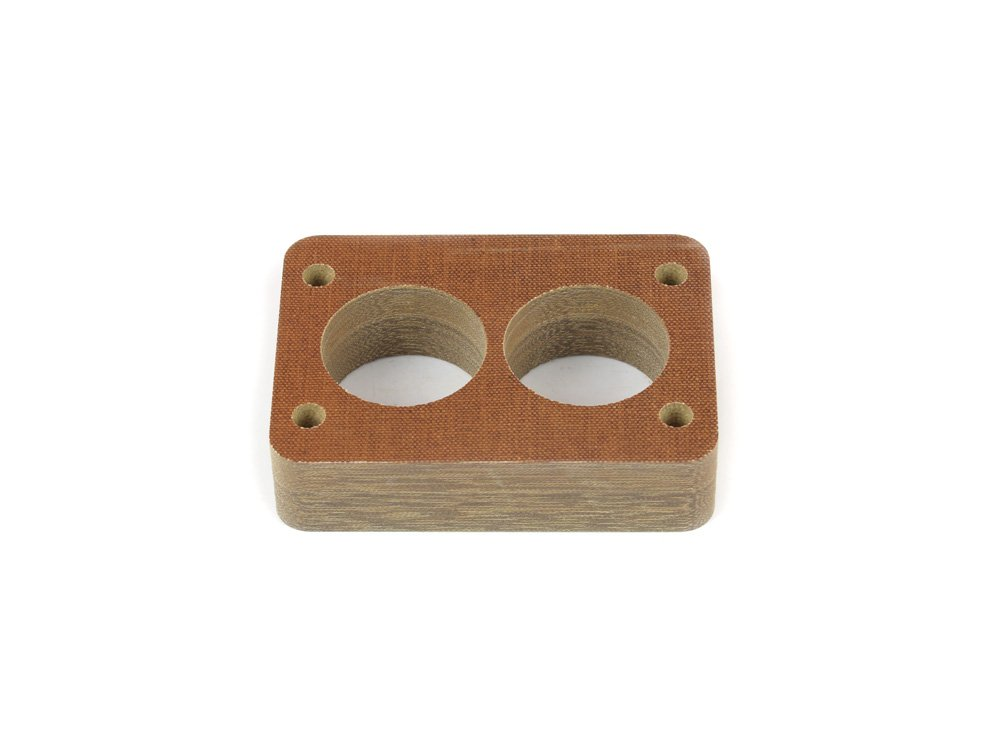 Canton Racing 85-030 Phenolic Carburetor Spacer for Rochester 2BBL 1 Inch Canton Racing Products