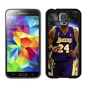 Popular And Unique Custom Designed Cover Case For Samsung Galaxy S5 I9600 G900a G900v G900p G900t G900w With Kobe Bryant 1 Black Phone Case