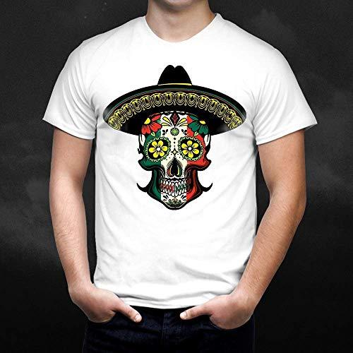 InterestGraphic Cinco de mayo Muertos Day Halloween Costume-Skull-Flower Funny Casual Shirt Hoodie/Sweatshirt/Tank/Long sleeve]()