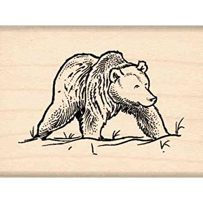 Stamps by Impression Bear Rubber Stamp: Arts, Crafts & Sewing