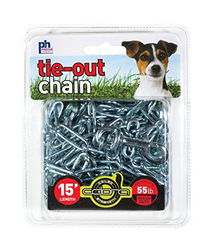 Prevue Pet Products 2114 Medium-Duty 15' Tie-Out Chain