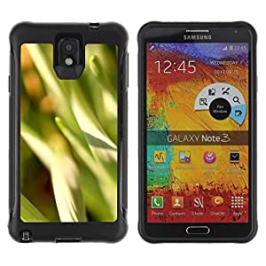 """Hypernova Defender Series TPU protection Cas Case Coque pour SAMSUNG Galaxy Note 3 III / N9000 / N9005 [Naturaleza Hermosa Forrest Verde 15""""]"""