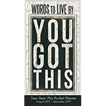Words To Live By 2018 Checkbook/2 Year Pocket Planner Calendar (CC0287)