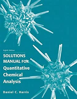 Quantitative chemical analysis daniel c harris 9780716770411 solution manual for quantitative chemical analysis fandeluxe Gallery