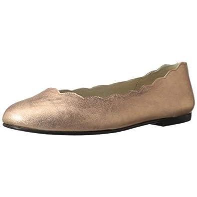 3f39547dbd74 FS NY Jigsaw Rose Gold Metallic Patent Ballet Flats - M - 11