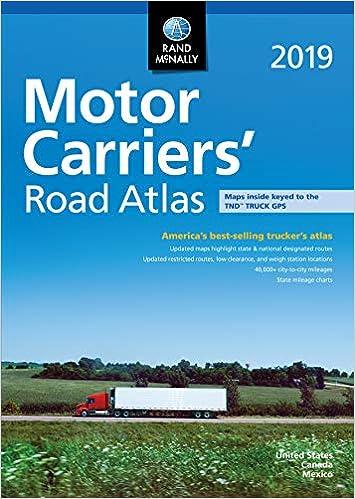 McRa 2019 Motor Carriers Road Atlas