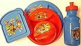 Paw Patrol 5 Piece ZAK Designs Dinner and Lunch Box Dish Set