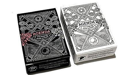 Amazon.com: Mini Agenda Playing Cards (Black): Toys & Games