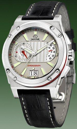 Jaguar Reloj para Hombre Analógico de Cuarzo con Brazalete de Piel de Vaca J612/2: Amazon.es: Relojes