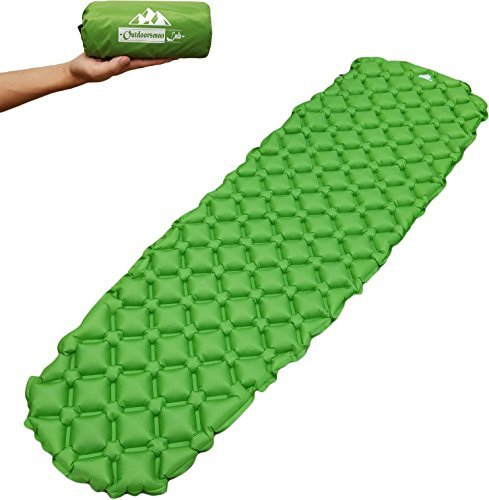 Rest Day Mats Care (Outdoorsman Lab Ultralight Sleeping Pad - Ultra-Compact for Backpacking, Camping, Travel w Air-Support Cells Design…)