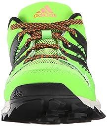 adidas Performance Kanadia 7 TR K Trail Shoe (Little Kid/Big Kid), Black/Black/Red, 11 M US Little Kid