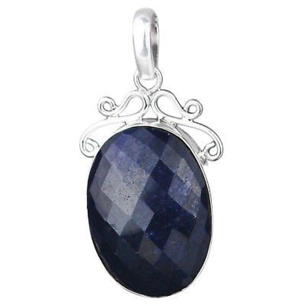 Blue Sapphire gemstone Pendant