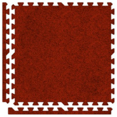 SoftCarpets Set in Red Size: 12′ x 14′