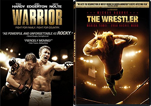 The Wrestler & The Warrior DVD 2 Pack Sport / MMA Fight Drama Movie Action Double Feature Set