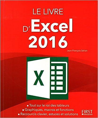 Lire Le Livre d'Excel 2016 pdf ebook
