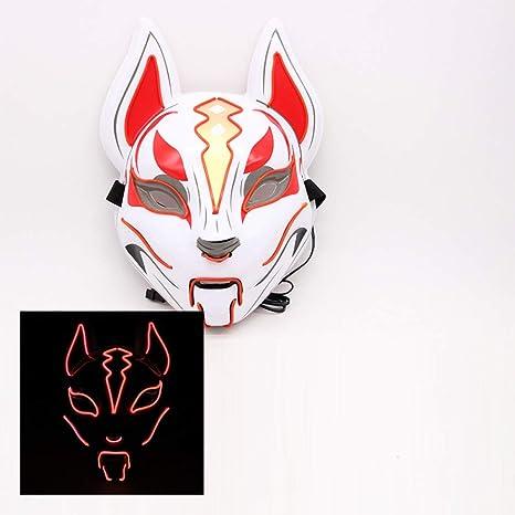 Máscara Máscara de fiesta de Halloween Máscara que brilla ...