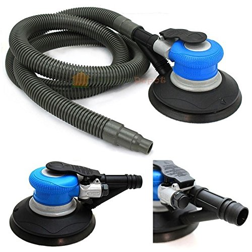 "New 6"" Air Random Orbital Palm Sander Sanding Automotive Self Vacuum Tool"