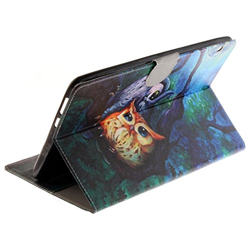 Magnetic and Case Bookstyle Cover Leather Panda Thin Lovely Leather MediaPad Card for Ultra Stent of 9 6 LMFULM Closure Case 10 PU Pattern Holster Inch Folding Slot T3 Pattern 5 Flip Function Leather Huawei 4dOnqBw