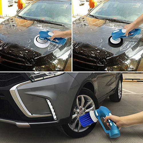 DSstyles Vehicle Car Polishing Mini Wireless Electric Vehicle Car Polisher Machine Clean Waterproof Tool by DSstyles (Image #5)