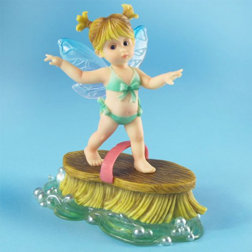My Little Kitchen Fairies from Enesco Little Surfer Fairie Figurine 4.5 IN