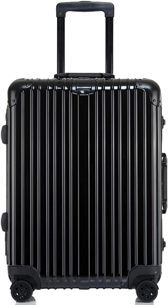 Color : Black-Mirror, Size : 20 inches 20//24//26//29 inches Z/&YY Scratch-Proof Aluminum Frame Trolley case Universal Wheel Suitcase Male and Female Students Suitcase Luggage Code