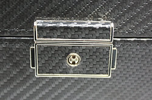 12 Sunglasses Case with Drawer Extra Large Black Carbon Fiber by TimelyBuys (Image #3)