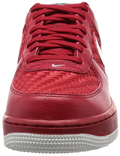NIKE Herren Air Force 1 '07 LV8 Basketballschuh Gym Red / Gym Red-Gipfel White-chrm