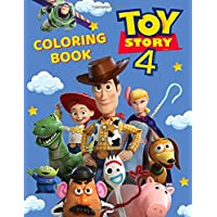 Toy Story 4 Coloring Book: Great Coloring Book