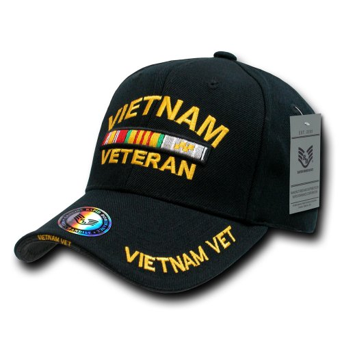 - Rapiddominance The Legend Milit Cap, Vietnam Vet/Black
