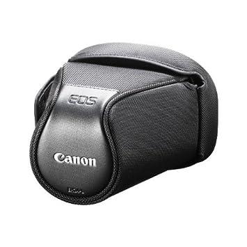 Canon EH24-L - Funda para cámaras EOS (Modelos 700D, 650D, 600D y 1100D), Negro