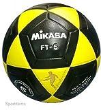 Mikasa FT5 Goal Master Soccer Ball, Yellow/Black, Size 5