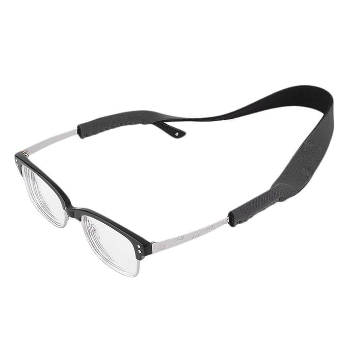 d262f9181b Correa de anteojos sólidos vintage Gafas de gafas Banda elástica de neopreno  Gafas de sol universales Cuerda Cuerda Soporte Gris: Amazon.es: Ropa y ...