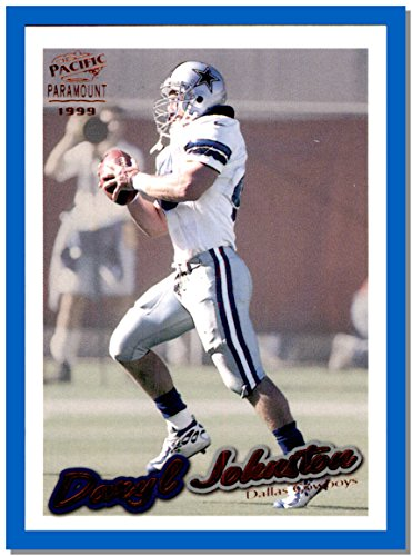 1999 Pacific football card Paramount Copper #69 Daryl Johnston Moose DALLAS COWBOYS