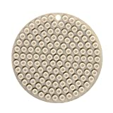 Pot Holders Silicone Heat Resistant Mats Premium Non-Slip Sunk Honeycomb Texture Design Waterproof Multipurpose Kitchen Tool for Kitchen Table, Hot Dishes, Pots, Pans Dining (Khaki)