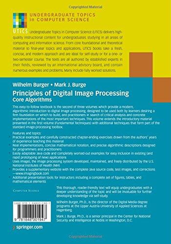 Principles of Digital Image Processing, Volume 2: Core Algorithms