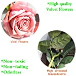cn-Knight-Artificial-Flower-12pcs-22-Long-Stem-Silk-Velvet-Rose-Real-Touch-Faux-Flower-for-Wedding-Bridal-Bouquet-Bridesmaid-Home-Decor-Office-Hotel-Baby-Shower-Party-Prom-CenterpieceRose-Smoke