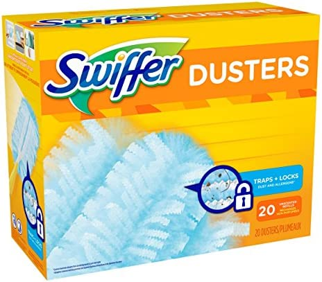 health, household, household supplies, cleaning tools, dusting,  feather dusters 10 discount Swiffer Duster Refills, 20 Ct (Old Version deals