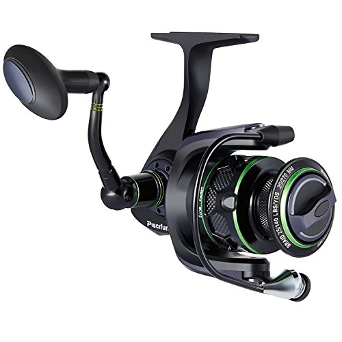 - Piscifun Spinning Reel Lightweight Smooth Fishing Reel 4000 Series 5.5:1 10+1BB 26.5LB Carbon Fiber Drag Spin Reels