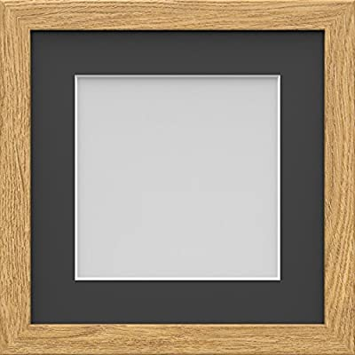 Ivory Effect 10x10 Square Photo  Picture Frame  Mount 7x7  Hang