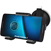 Droid Turbo 2 Easy-dock Car Mount Holder - Windshield & Dashboard Compatible (By Encased) (For Motorola Droid Turbo2 XT1585)