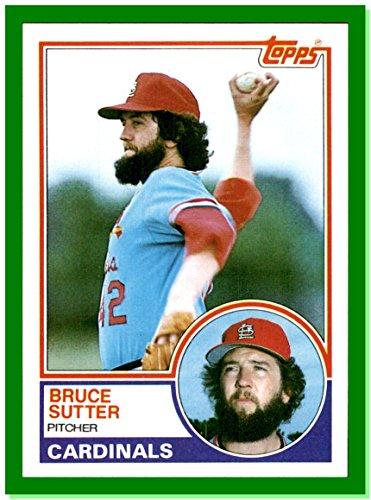 1983 Topps #150 Bruce Sutter ST. LOUIS CARDINALS (1983 St Louis Cardinals)