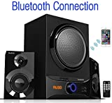 Boytone BT-209FB, Ultra Wireless Bluetooth Main unit, 30 watt, FM radio, remote control, Aux Port, USB/SD/ for Smartphone's, Tablets, Desktop Computers, Laptops, TV, Black finish