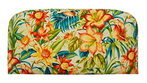 (RSH Décor Indoor ~ Outdoor Tommy Bahama Botanical Glow Foam Loveseat Settee ~ (38x17x3))