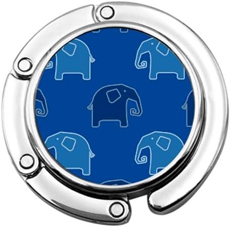 Elefante Azul Bolsa de Nariz Larga Colgador de Mesa Bolso Colgador ...