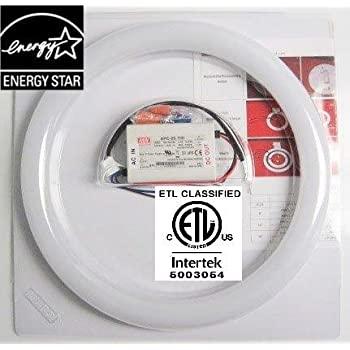 Amatron Etl Amp Energy Star Listed 8 Quot T9 Led Circline 11w