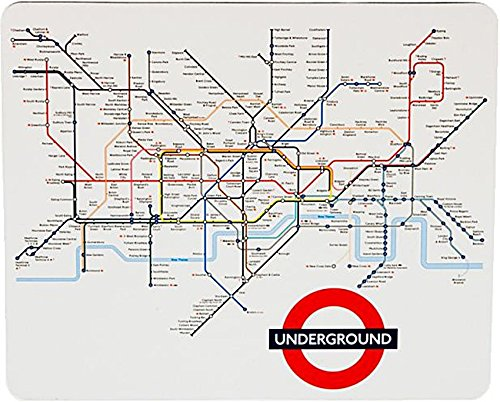 Transport For London Map.Transport For London London Underground Tube Map Printed Computer Mouse Mat